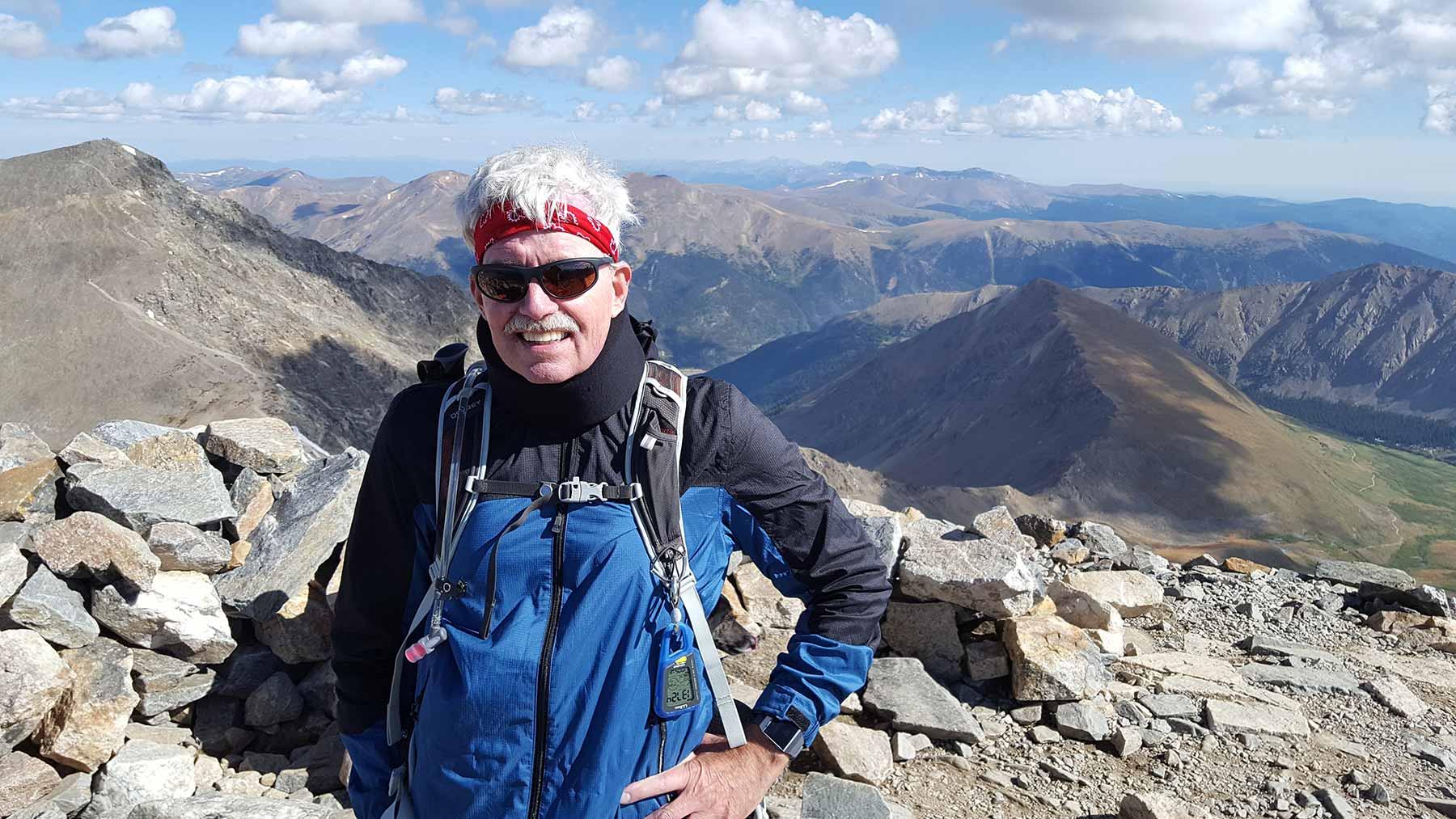 John C Peters PhD at summit
