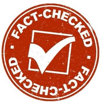 diagram showing fact check symbol