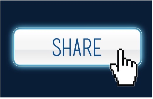 illustration of a share button
